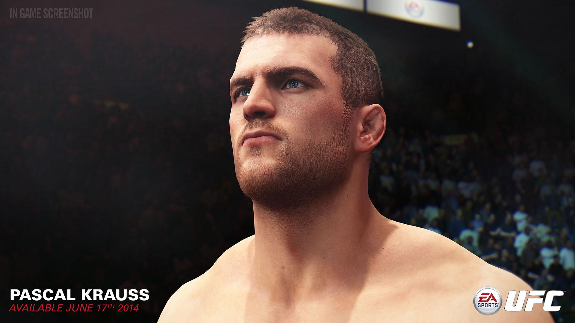Паскаль Краусс - EA Sports UFC Скриншот