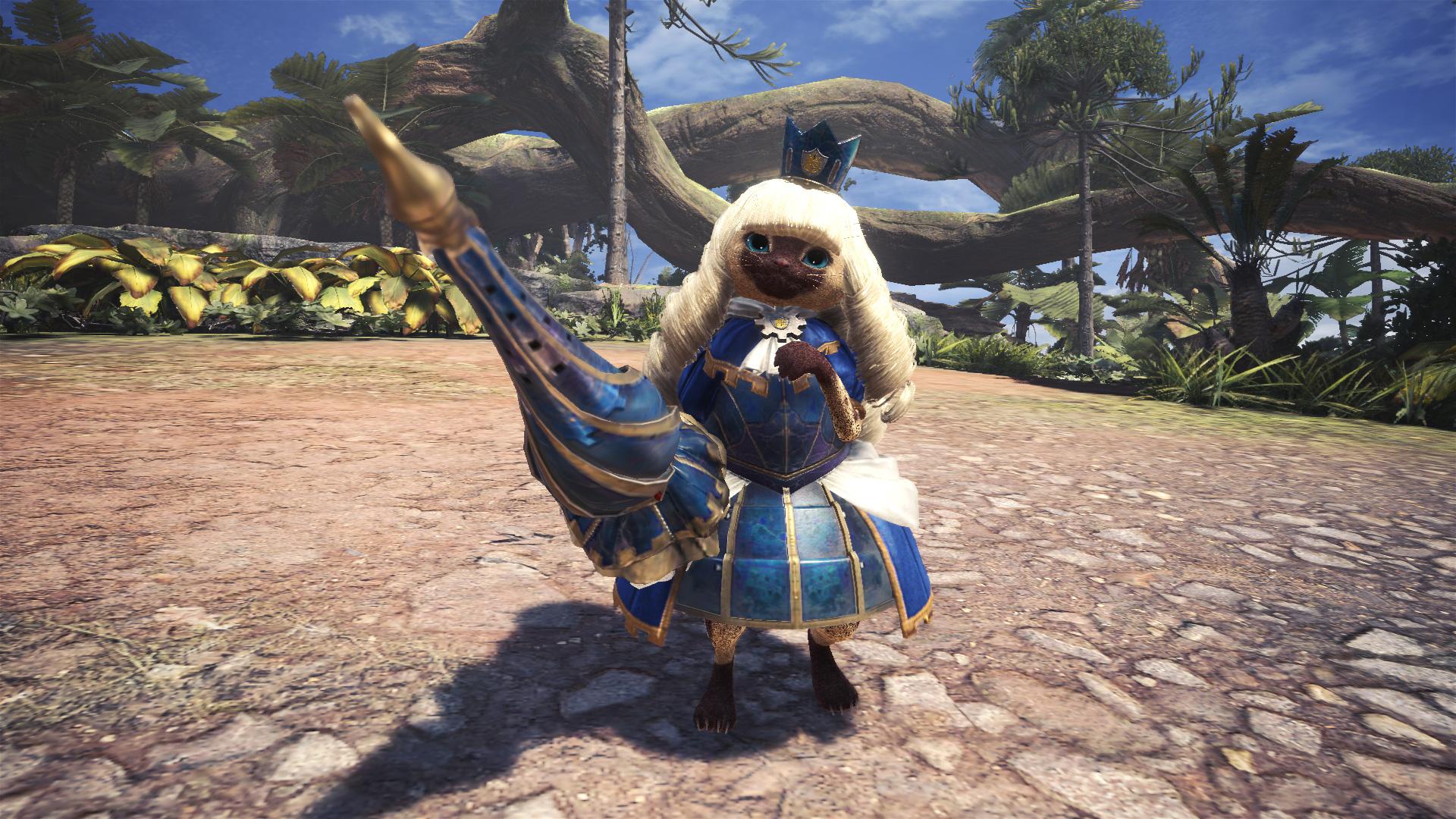 Palico-Eliza - Monster Hunter: World