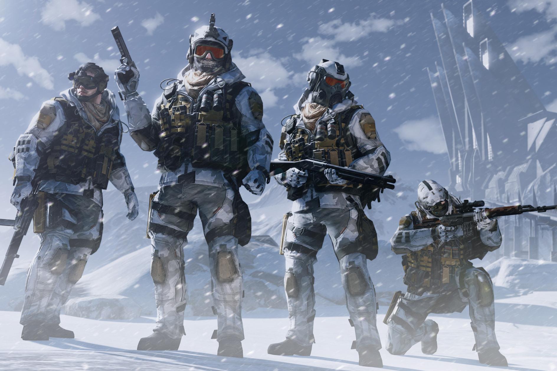 Топ внешность в игре - Warface