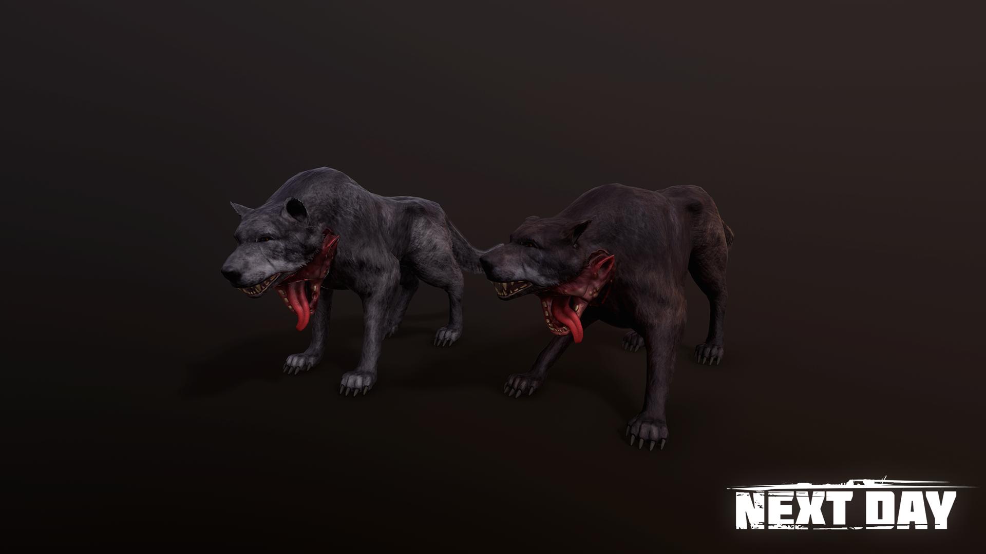 Двухголовый волк - Next Day: Survival Животное, Рендер
