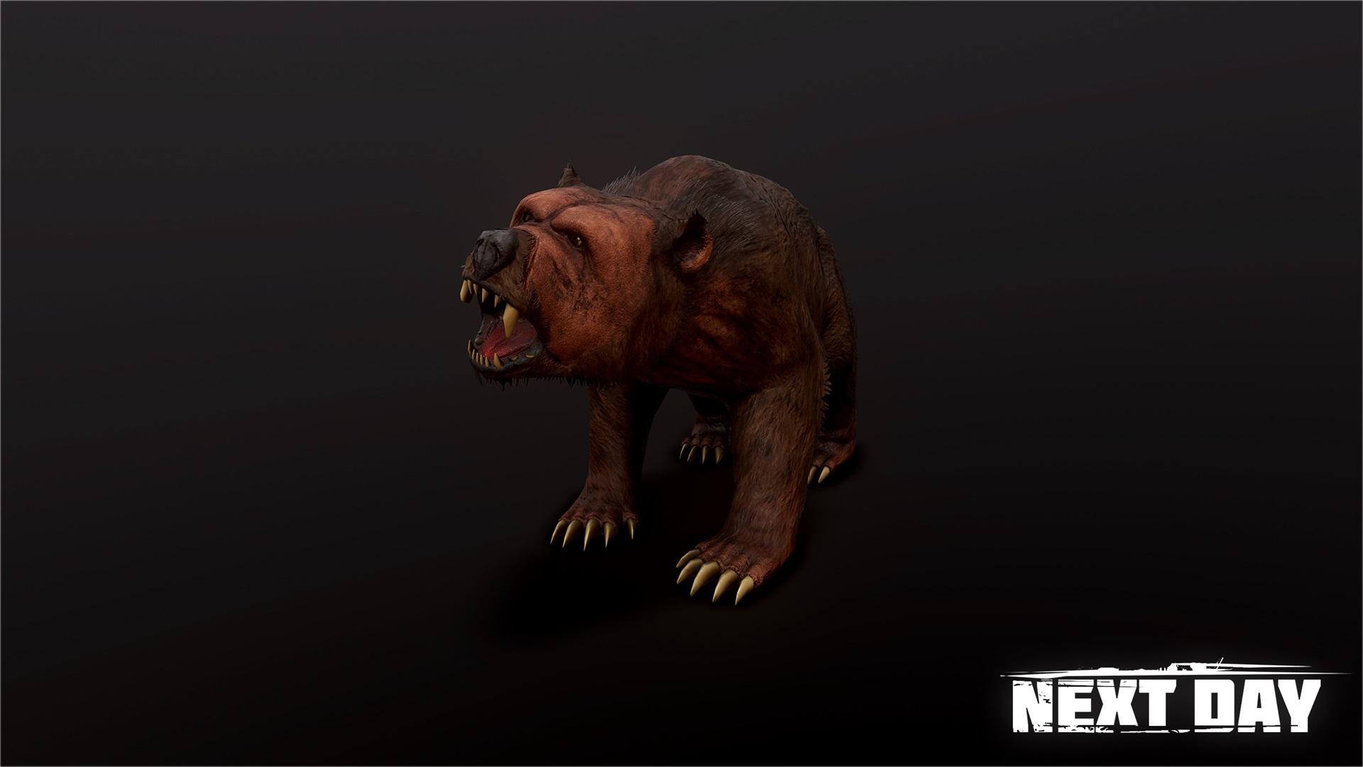 Медведь - Next Day: Survival Животное, Рендер
