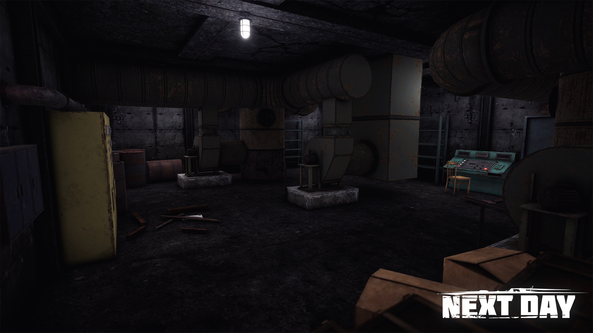 Подземная лаборатория - Next Day: Survival Локация