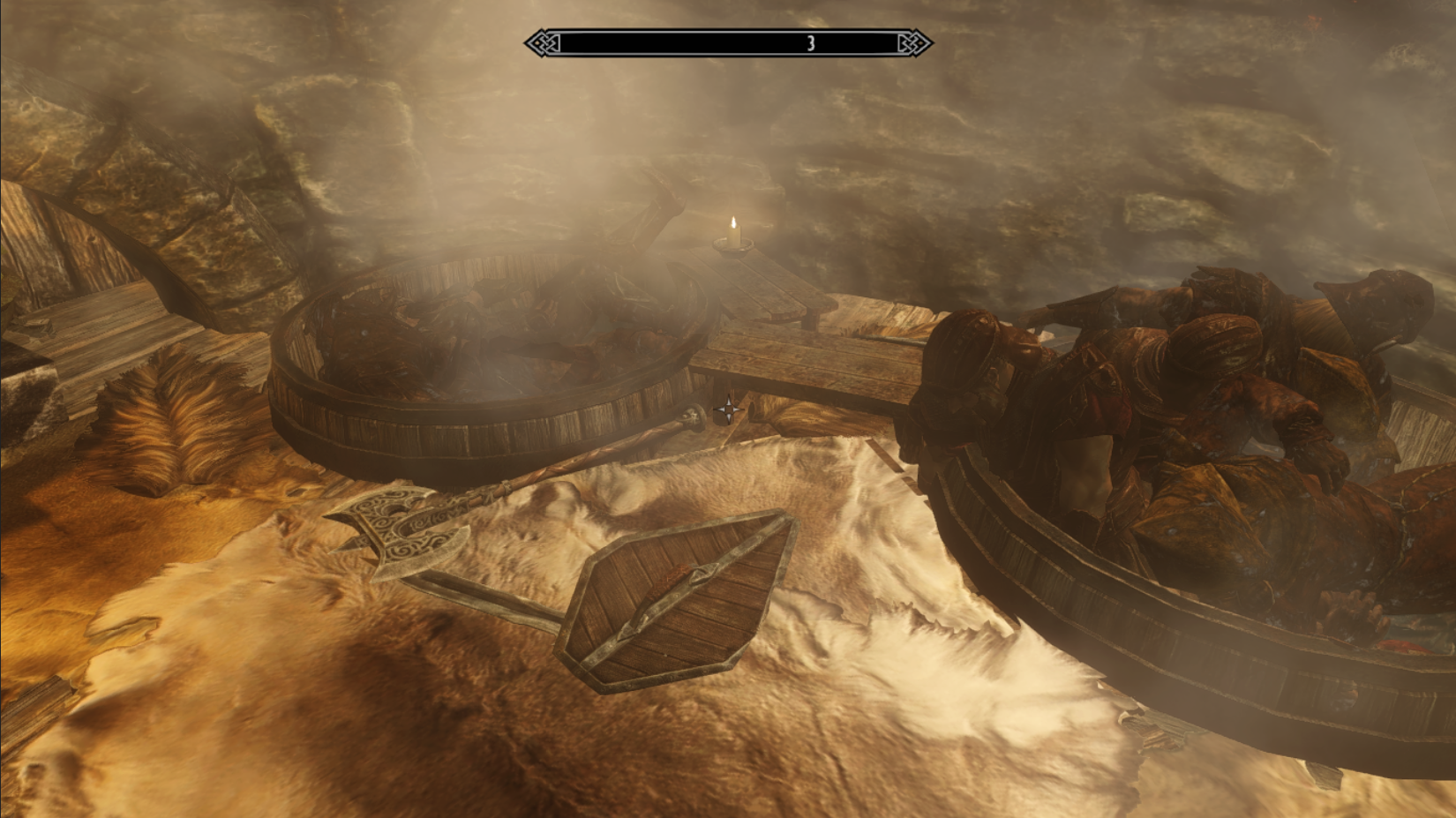 Варим Имперцев. Осталось добавить приправ и измельчённые кости Братьев Бури. - Elder Scrolls 5: Skyrim, the