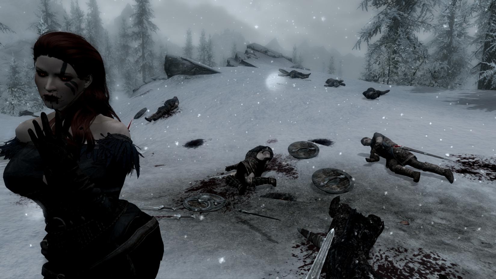 И кровь текла всю ночь, до самого утра! - Elder Scrolls 5: Skyrim, the