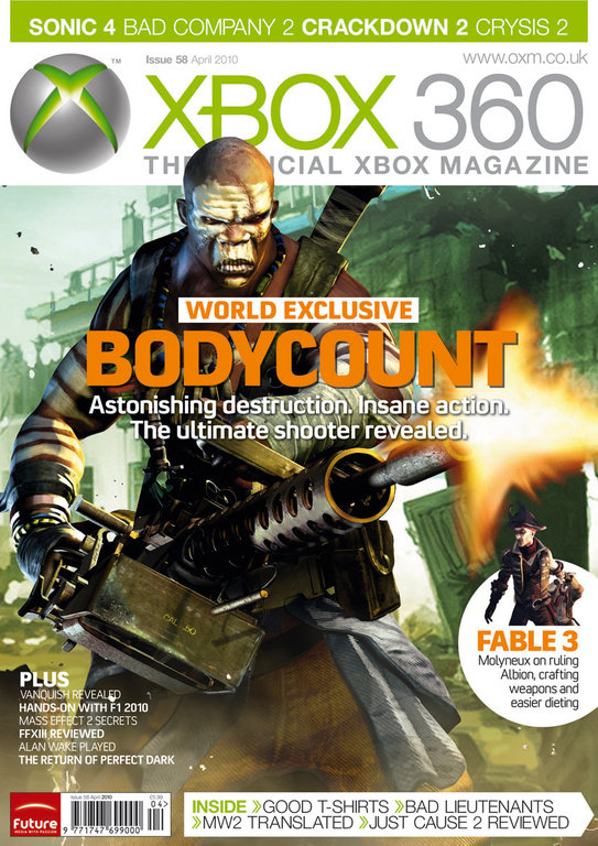 Bodycount – новый шутер от Codemasters