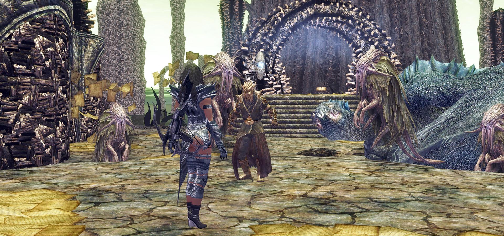 539. Мирак, первая встреча.jpg - Elder Scrolls 5: Skyrim, the CBBE, Сборка-21