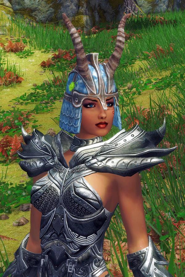 540. Алисса с трофейным шлемом.jpg - Elder Scrolls 5: Skyrim, the CBBE, Сборка-21