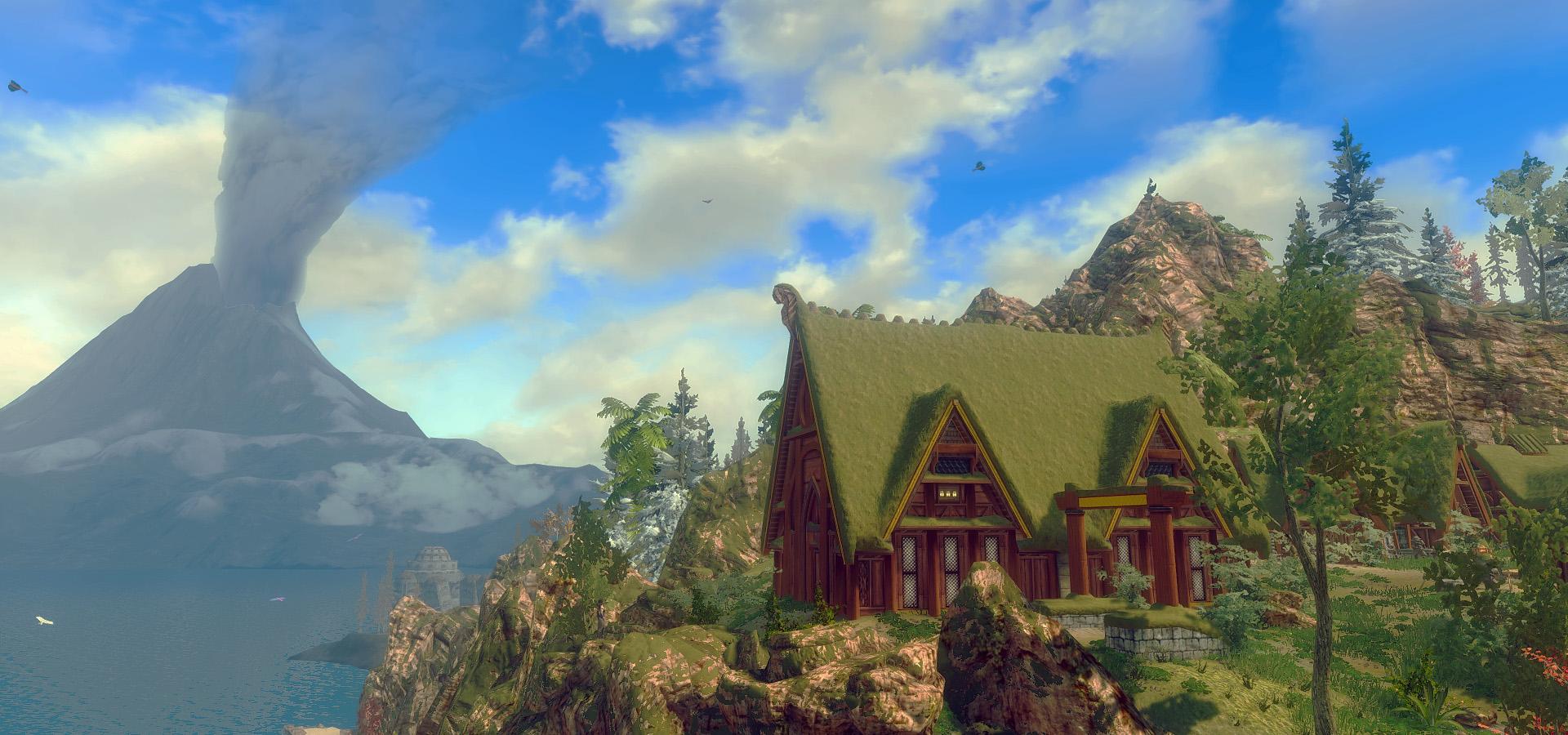 544. Деревня скаалов, Солстейм.jpg - Elder Scrolls 5: Skyrim, the CBBE, Сборка-21