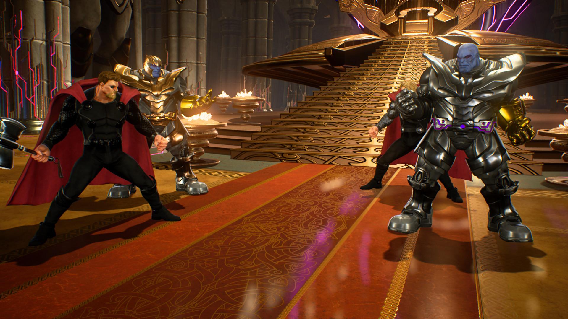 Могучий Тор - Marvel vs. Capcom: Infinite