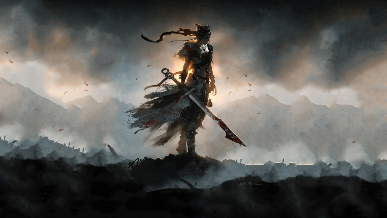 wuPexrkKIxk.jpg - Hellblade: Senua's Sacrifice Арт, Сенуа