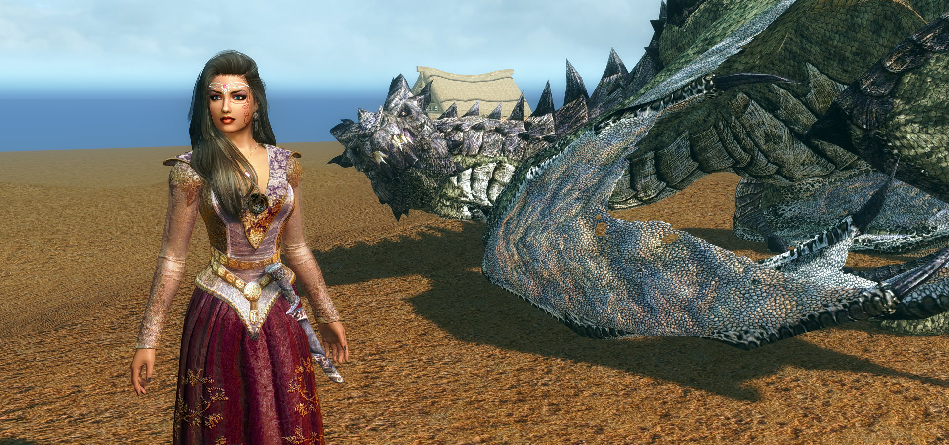 557. Одна из локаций Мирака.jpg - Elder Scrolls 5: Skyrim, the CBBE, Сборка-21