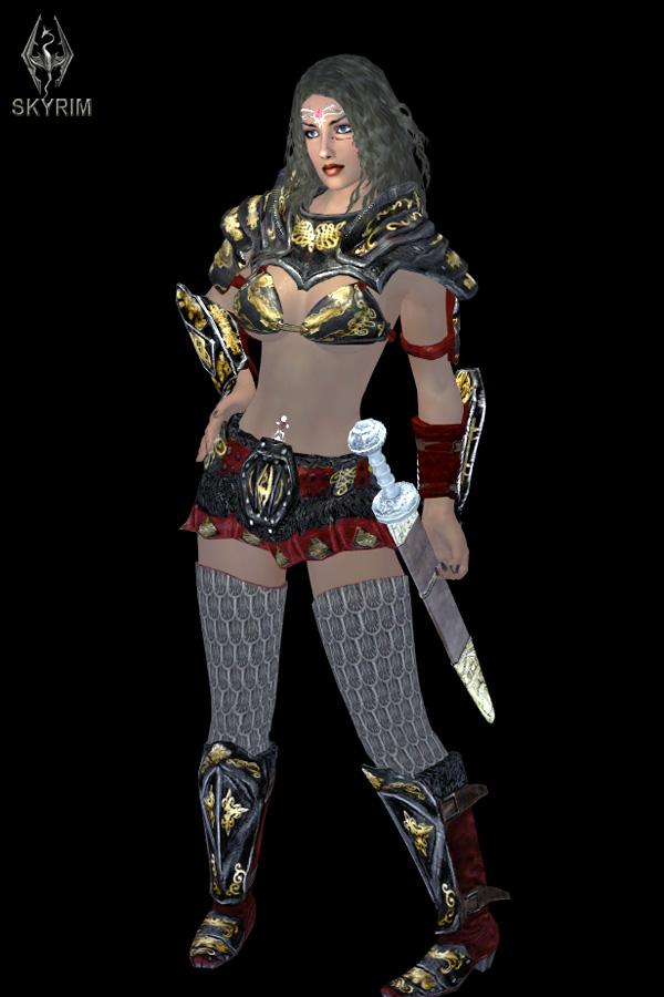 562. Имперская броня.jpg - Elder Scrolls 5: Skyrim, the CBBE, Сборка-21