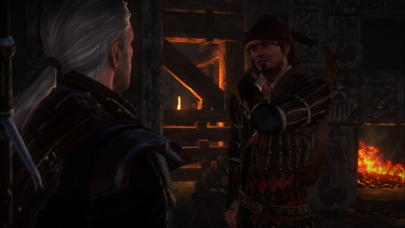Лютик - Witcher 2: Assassins of Kings, the
