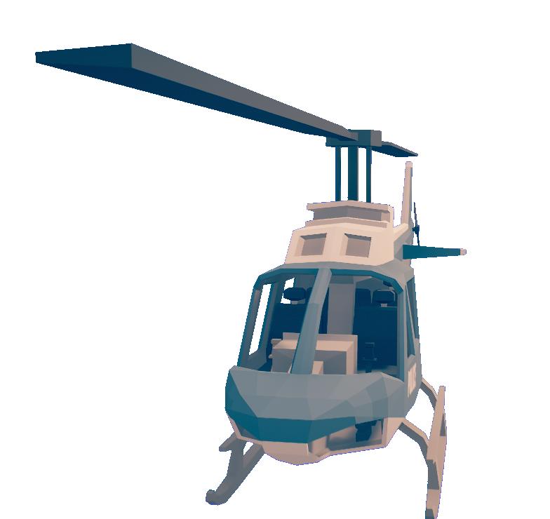 Вертолёт - Totally Accurate Battlegrounds Скриншот