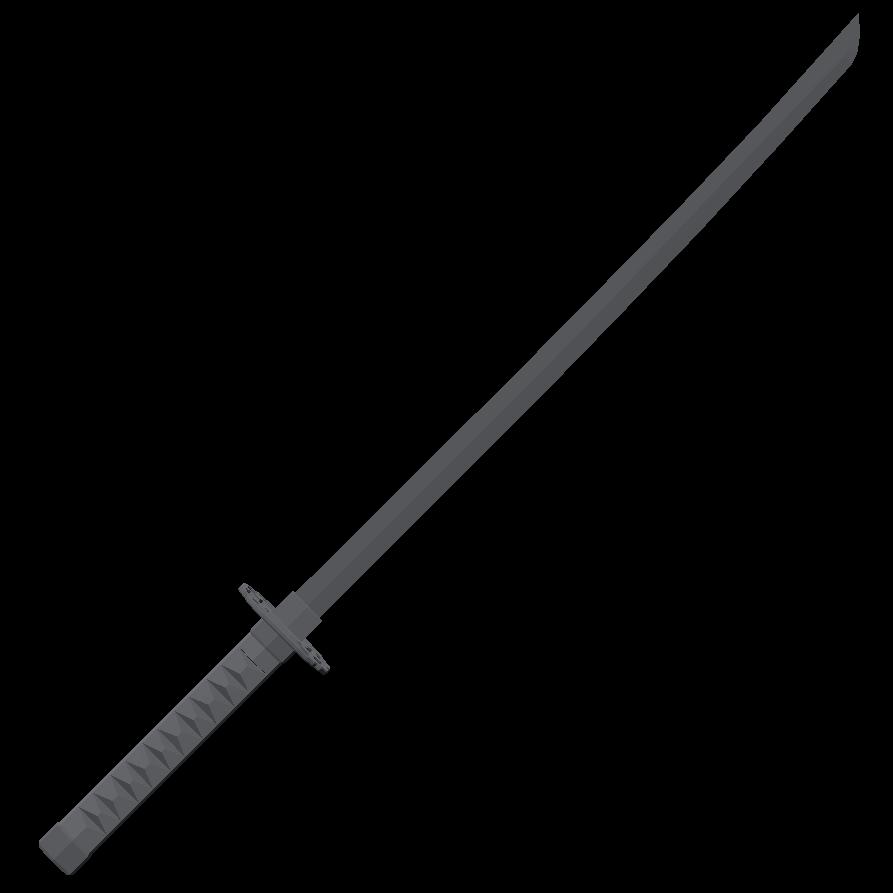 Чёрная катана - Totally Accurate Battlegrounds Оружие