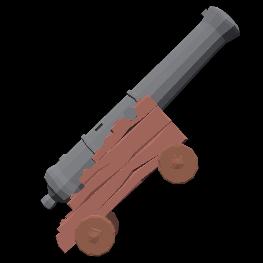 Пушка - Totally Accurate Battlegrounds Оружие