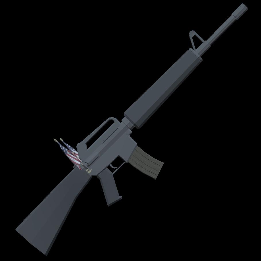 Либерастический M16 - Totally Accurate Battlegrounds Оружие