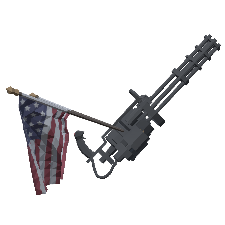 Либерастический миниган - Totally Accurate Battlegrounds Оружие
