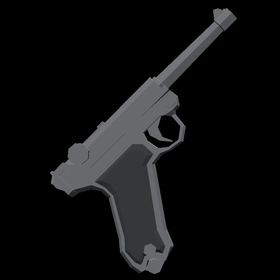 Люгер - Totally Accurate Battlegrounds Оружие