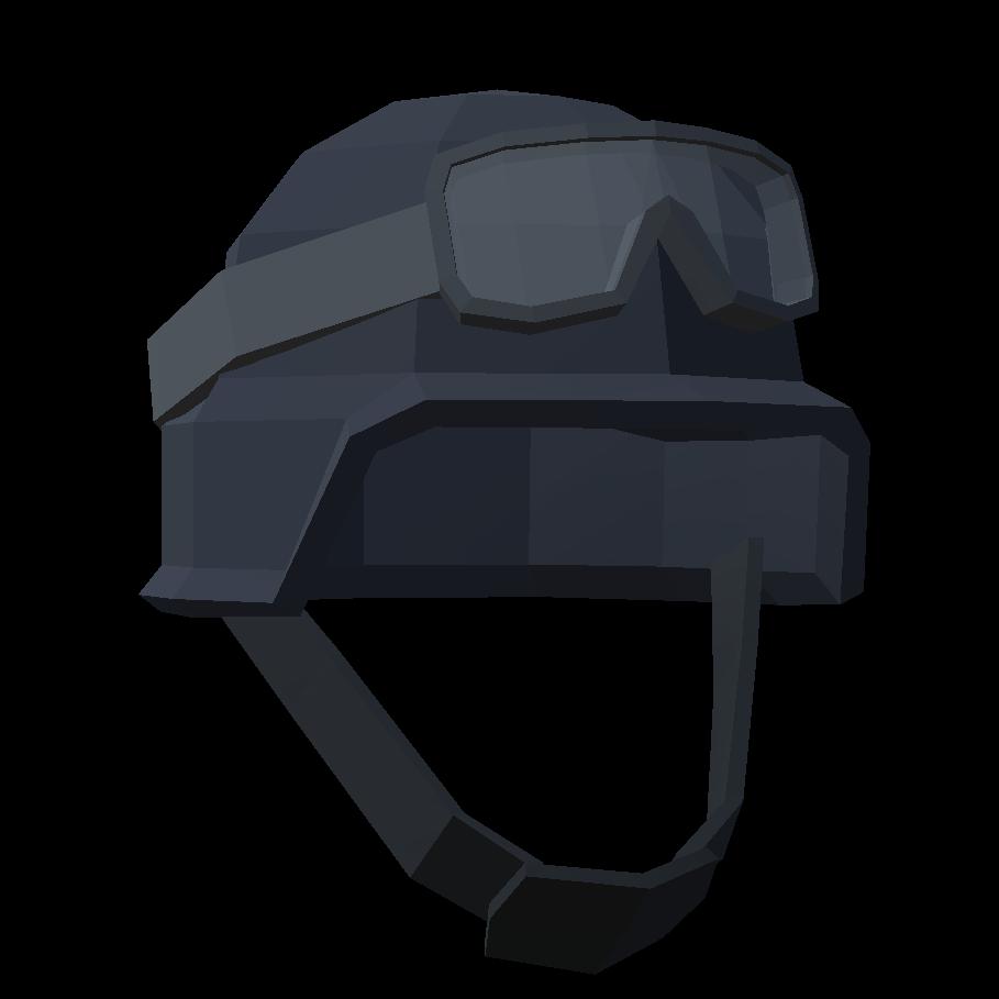 Серый кевларовый шлем с очками - Totally Accurate Battlegrounds Предмет