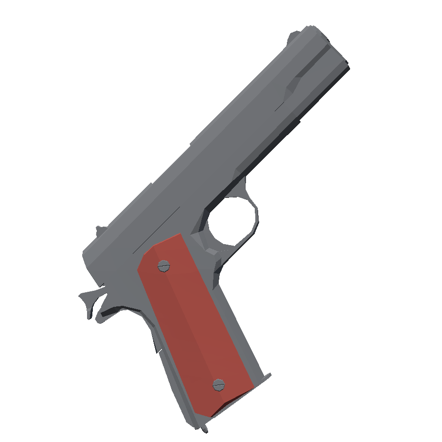 m1911 - Totally Accurate Battlegrounds Оружие