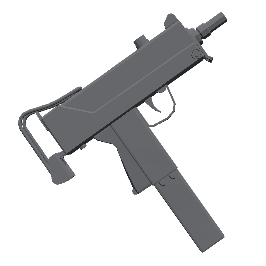 Mac-10 - Totally Accurate Battlegrounds Оружие