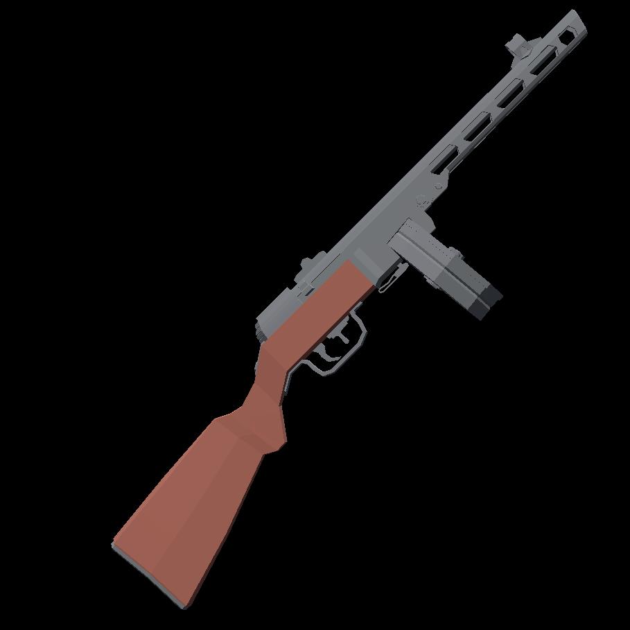 ППШ-41 - Totally Accurate Battlegrounds Оружие