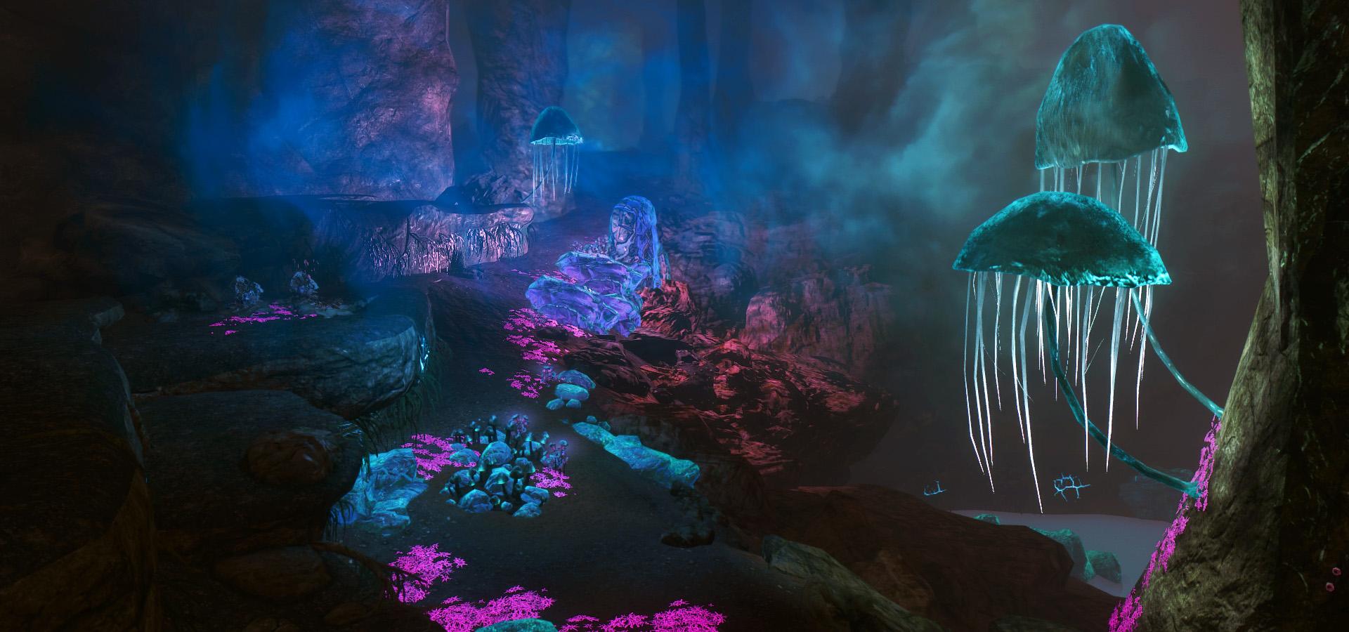 567. В пещере Темный переход.jpg - Elder Scrolls 5: Skyrim, the CBBE, Сборка-21
