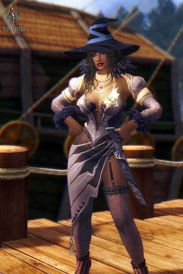 576. В порту Солитьюда.jpg - Elder Scrolls 5: Skyrim, the CBBE, Сборка-21
