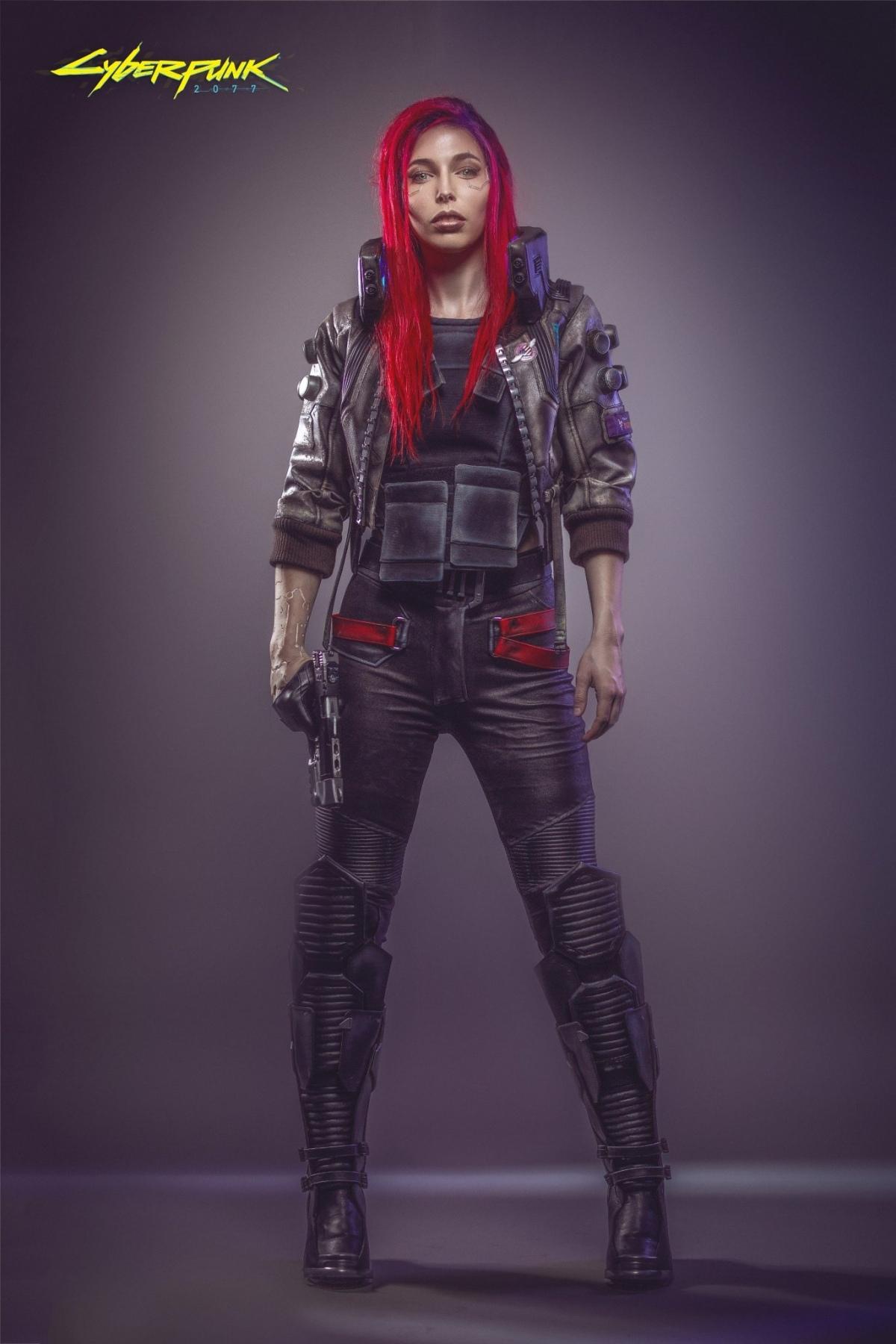 Cyberpunk 2077 - - Арт, Косплей