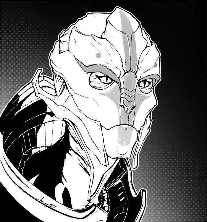 _vYaaF0tupk.jpg - Mass Effect 3 Арт, Найрин, Турианка