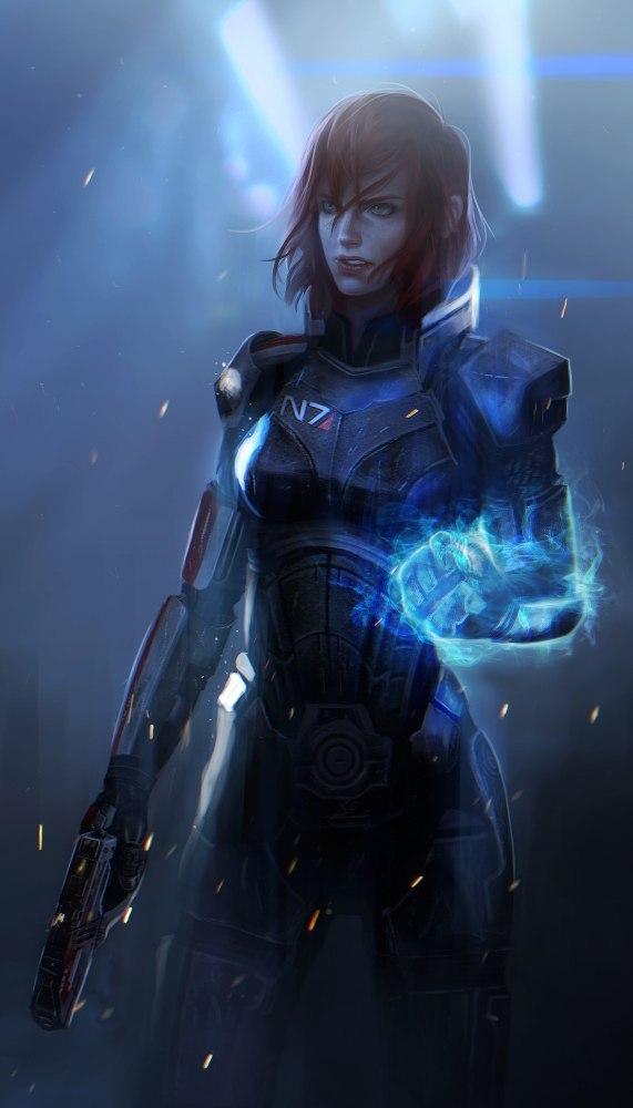 Jad3YyftEVo.jpg - Mass Effect 3 Арт, Биотик