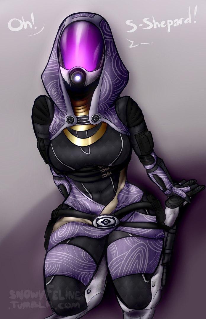 JBQOOIZCP3Q.jpg - Mass Effect 3 Арт, Тали'Зора