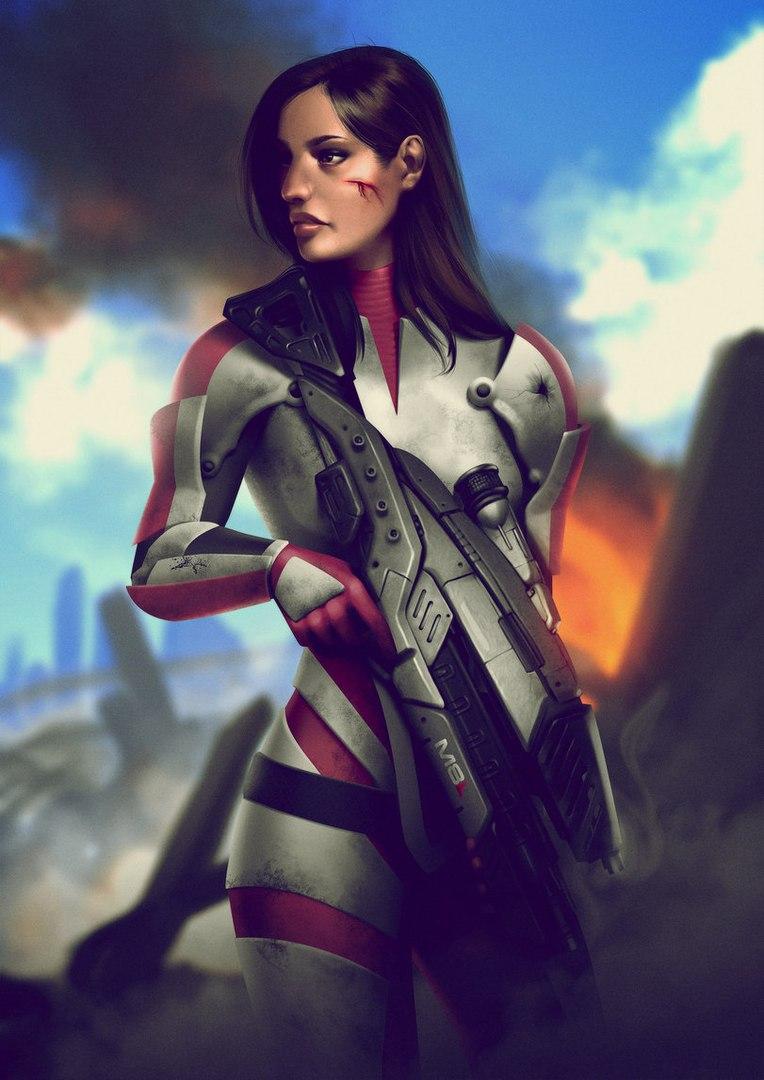 KEauMZd5ZiU.jpg - Mass Effect 3 Арт, Эшли Уильямс