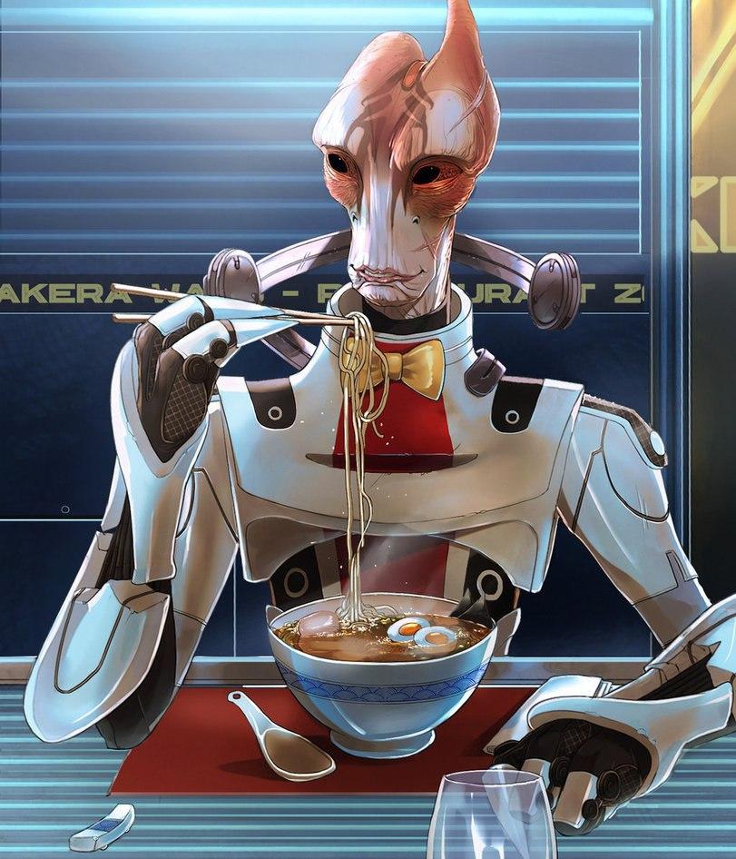 lB6R2QiytWU.jpg - Mass Effect 3 Арт, Мордин