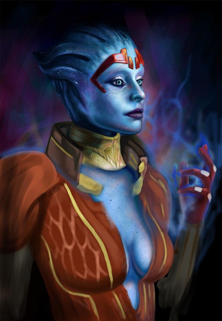 pJ4y7wFouvo.jpg - Mass Effect 2 Арт, Самара, Юстициар