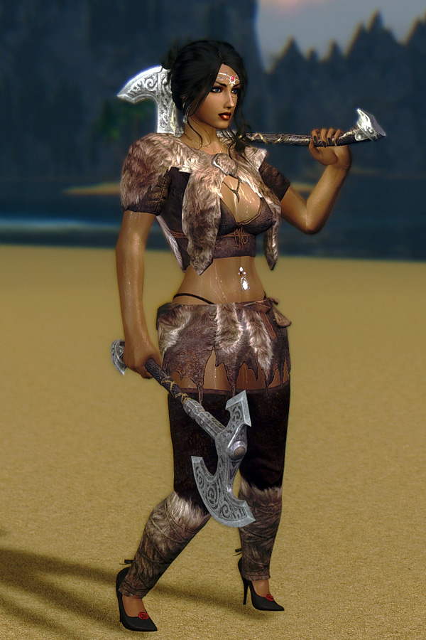 598. Вечерняя прогулка, GP.jpg - Elder Scrolls 5: Skyrim, the CBBE, Сборка-21
