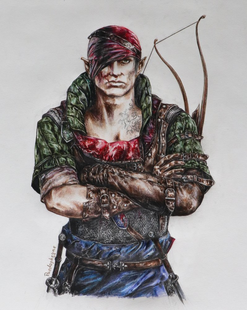 iorveth_by_paedophryne-dc96s78.png - Witcher 2: Assassins of Kings, the