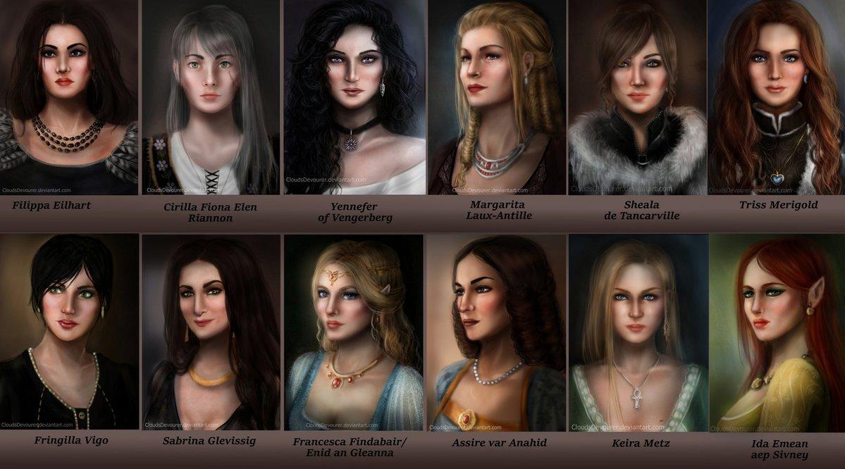 lodge_of_sorceresses_by_cloudsdevourer-d8xa9wz.jpg - Witcher 3: Wild Hunt, the