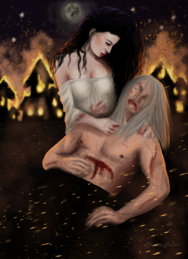 never_leave_you_again___geralt_and_yennefer_by_shinkeihelion-d5figmx.jpg - Witcher 3: Wild Hunt, the
