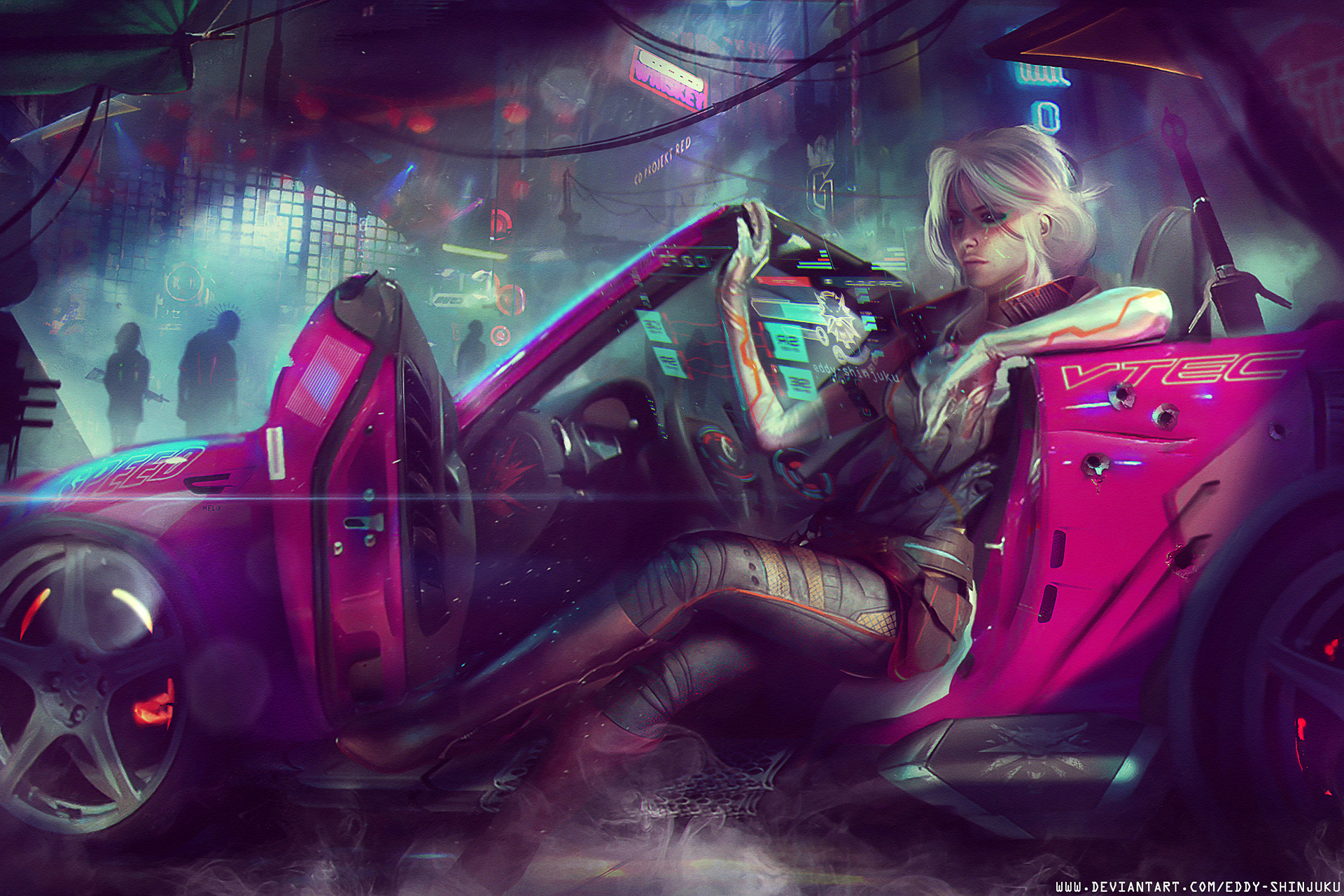 CYBERPUNK 2077 - A New Girl In Town - Cyberpunk 2077 Арт