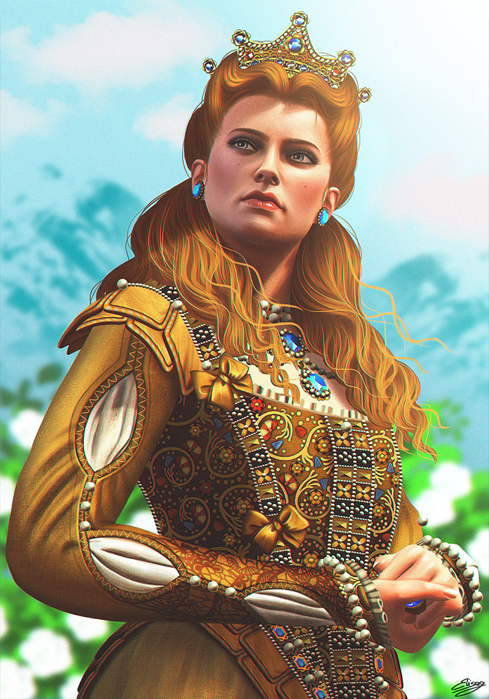 the_witcher_3__blood_and_wine___anna_henrietta_by_elygraphic-dc9078w (1).jpg - The Witcher 3: Wild Hunt