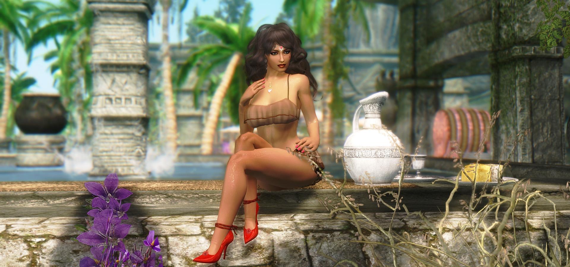 609. Около бассейна, GP.jpg - Elder Scrolls 5: Skyrim, the CBBE, Сборка-21