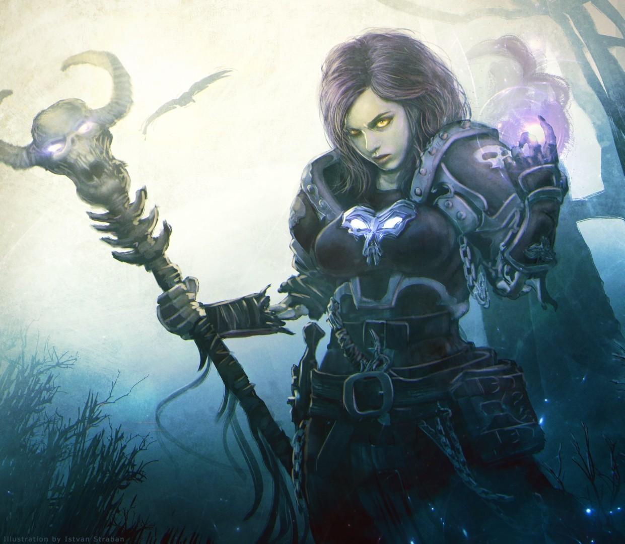 Sorceress Art - -