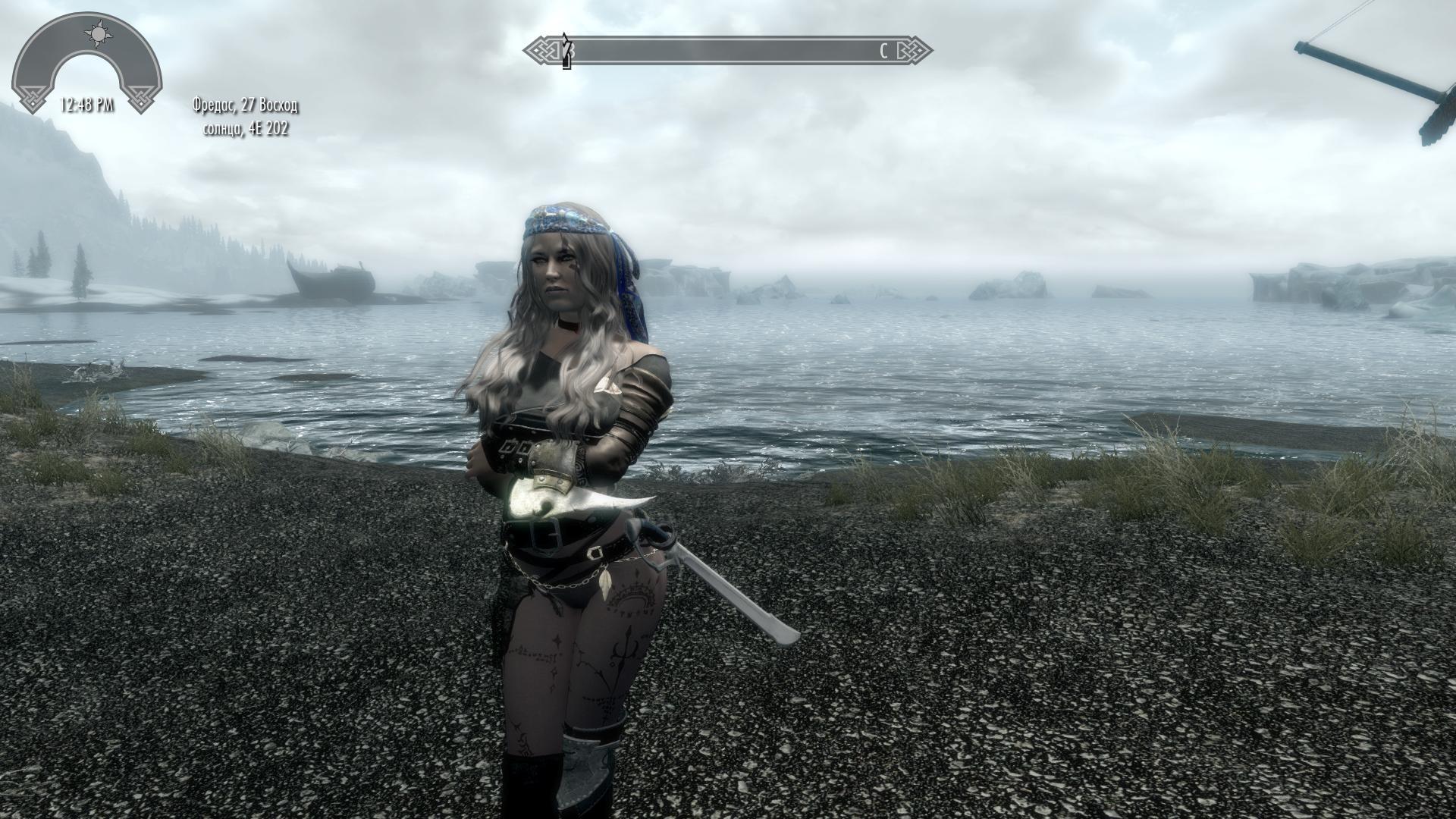 Героиня ракурс 22 - Elder Scrolls 5: Skyrim, the