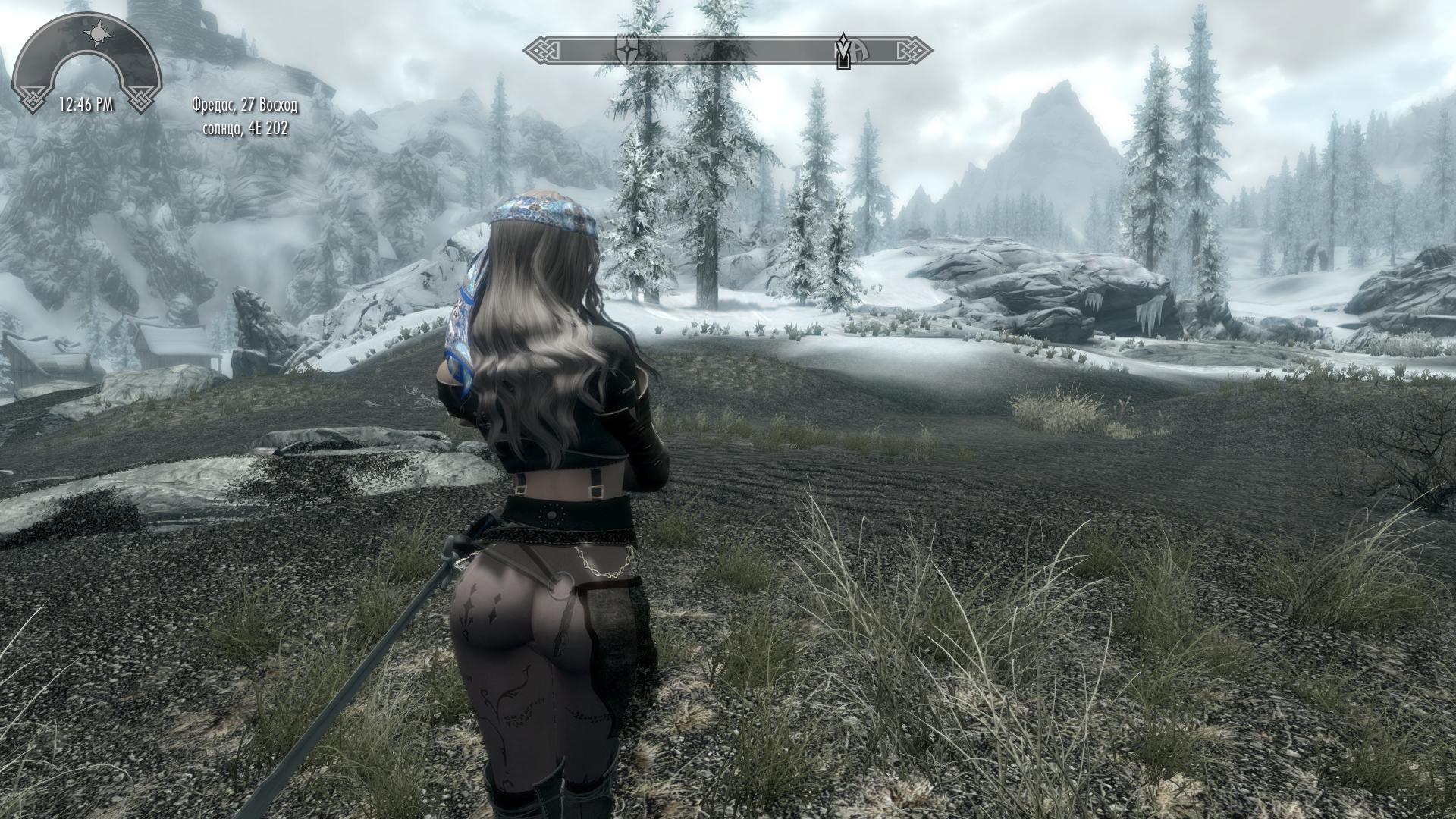 Героиня ракурс 23 - Elder Scrolls 5: Skyrim, the