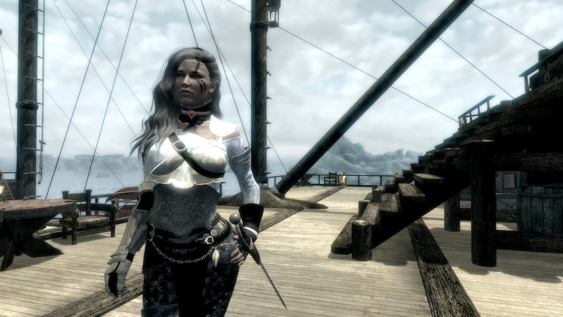 Героиня ракурс 25 - Elder Scrolls 5: Skyrim, the