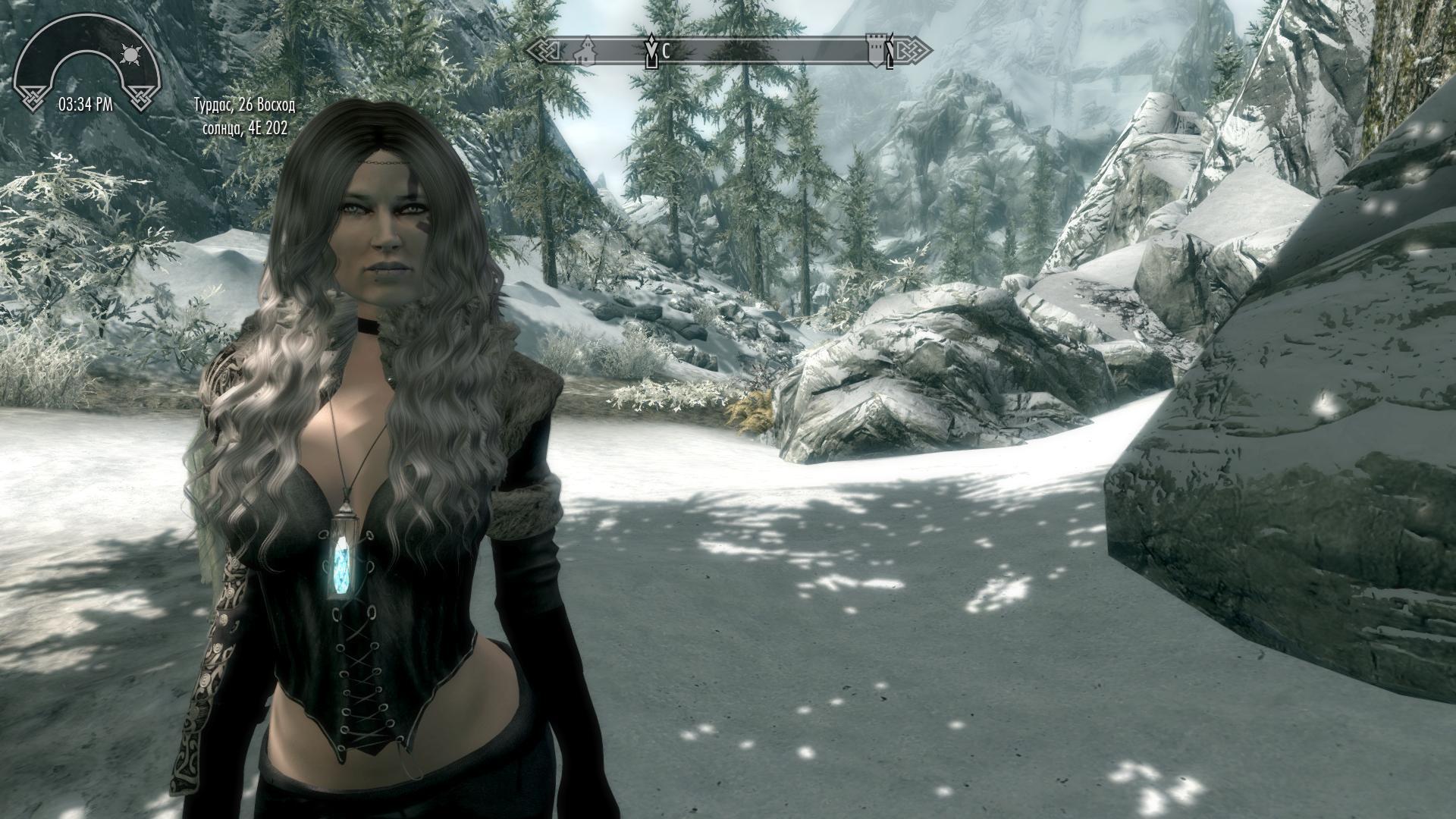 Героиня ракурс 31 - Elder Scrolls 5: Skyrim, the