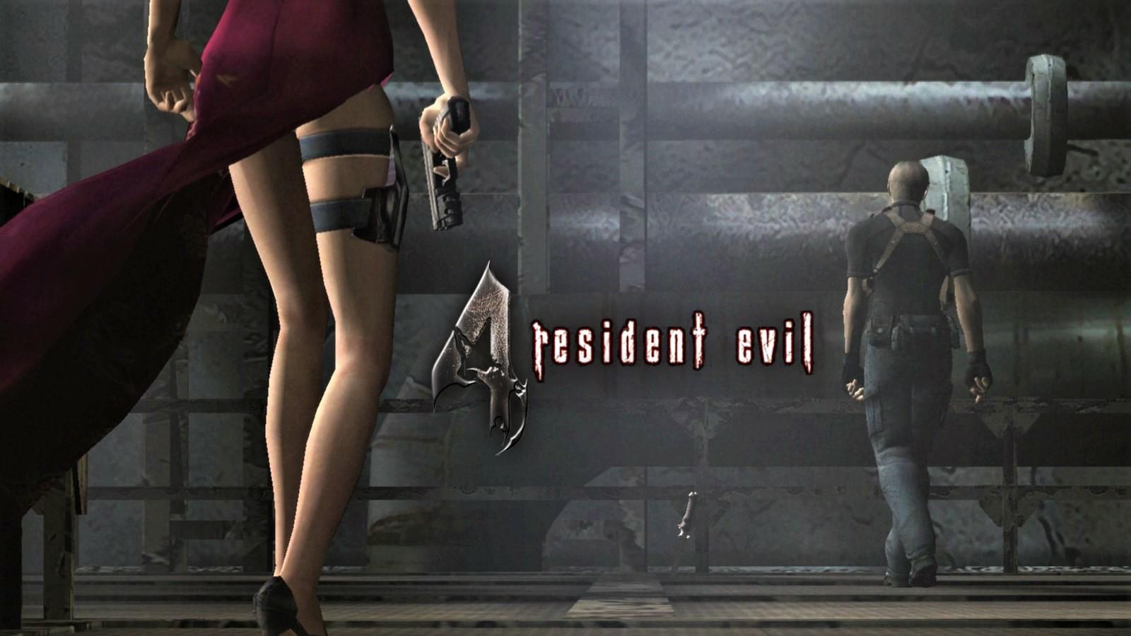 Ада Вонг - Resident Evil 4 Ада Вонг, Леон Кеннеди