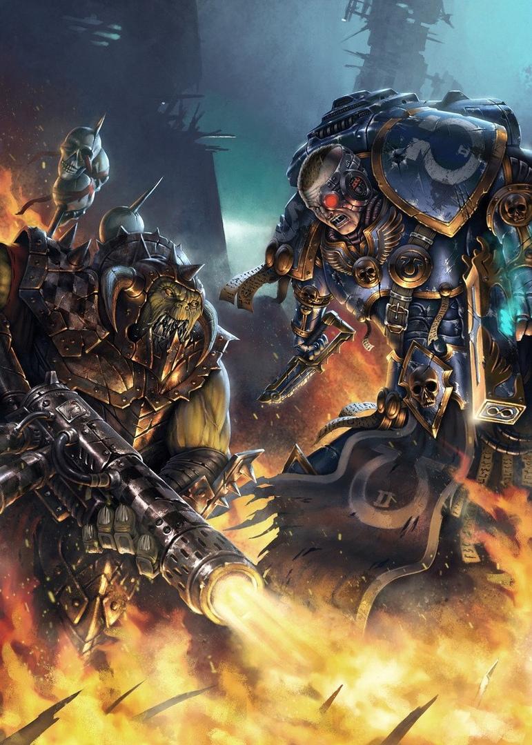 iaDIG-3wBUE.jpg - Warhammer 40.000: Dawn of War 2 Арт